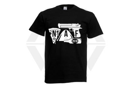 Daft Donkey Special Edition NAF 2018 'Airsoft Festival' T-Shirt (Black) © Copyright Zero One Airsoft
