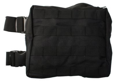Mil-Force Large Drop Leg Utility Pouch (Black)