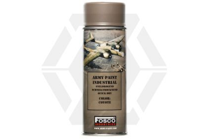 Fosco Army Spray Paint 400ml (Coyote)