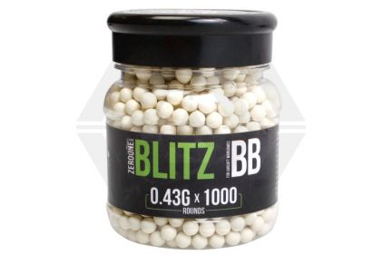 Zero One Blitz BB 0.43g 1000rds (White)