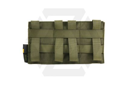 101 Inc MOLLE Elastic Triple M4 Mag Pouch (Olive)