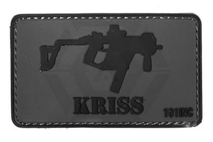 "101 Inc PVC Velcro Patch ""KRISS Vector"" © Copyright Zero One Airsoft"