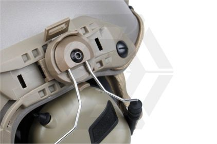 EB OPSMEN M32H Headset for Helmet Rails (Military Standard Plug) (Tan)