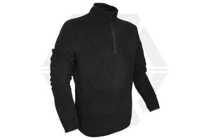Viper Elite Mid-Layer Fleece (Black) - Size Extra Extra Large © Copyright Zero One Airsoft