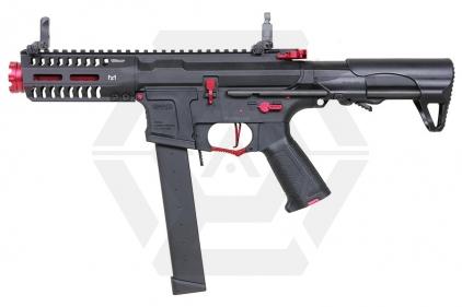 G&G Combat Machine AEG ARP 9 Super Ranger Fire with ETU (Black/Red) © Copyright Zero One Airsoft
