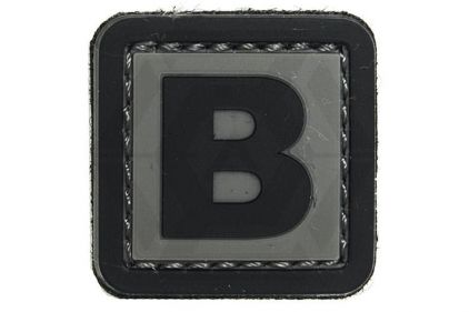 "VOS PVC Velcro Patch ""B"""