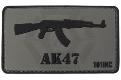 "101 Inc PVC Velcro Patch ""AK47"""