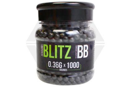 Zero One Blitz BB 0.36g 1000rds (Black)