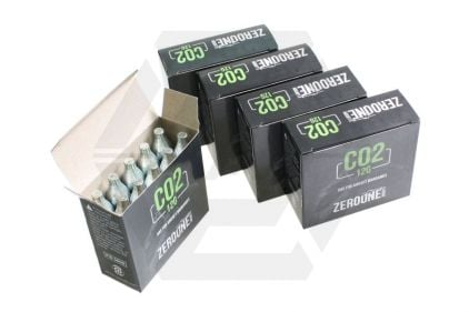 Zero One 12g CO2 Capsule Box of 50 (Bundle) © Copyright Zero One Airsoft