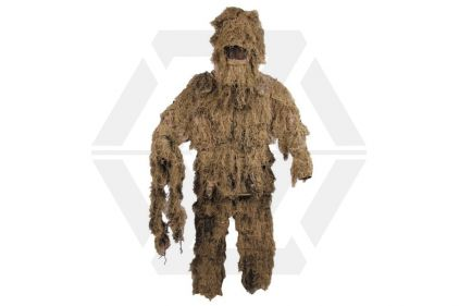 MFH Ghillie Suit (Desert) - Size Extra Large / Extra Extra Large © Copyright Zero One Airsoft