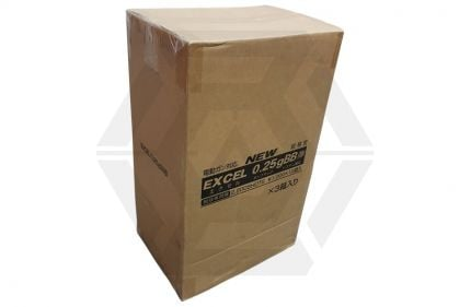 Excel BB 0.25g 2200rds Carton of 36 (Bundle) © Copyright Zero One Airsoft
