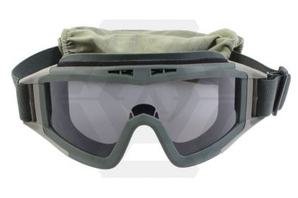 Mil-Force Elite Tactical Goggles Set (Olive)