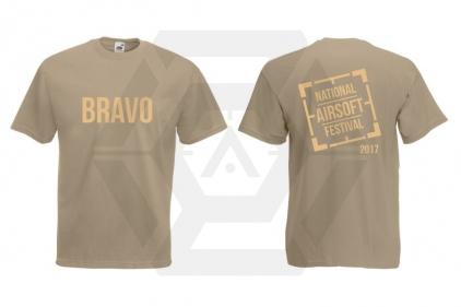 Daft Donkey Special Edition 'NAF 2017 Bravo' T-Shirt (Tan)