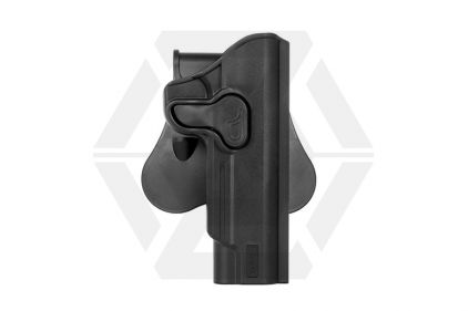 Amomax Rigid Polymer Holster for 1911 (Black) © Copyright Zero One Airsoft