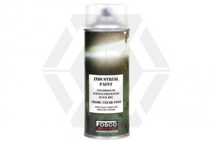Fosco Army Spray Paint Clear Coat 400ml (Matt)