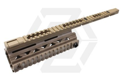 G&G 100Y Handguard Rail System (Tan) © Copyright Zero One Airsoft