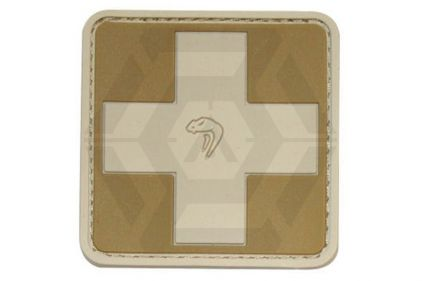 Viper Velcro PVC Medic Patch (Coyote Tan) © Copyright Zero One Airsoft
