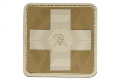 Viper Velcro PVC Medic Patch (Coyote Tan)