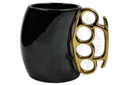 Caliber Gourmet Brass Knuckles Mug