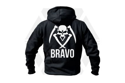 Daft Donkey Special Edition NAF 2018 'Bravo' Viper Zipped Hoodie (Black) © Copyright Zero One Airsoft
