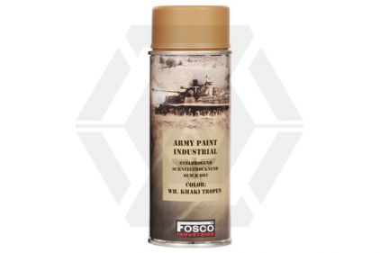 Fosco Army Spray Paint 400ml (Khaki)