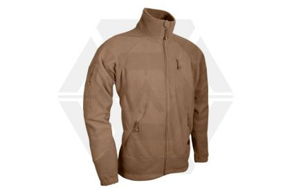 Viper Special Ops Fleece Jacket (Coyote Tan) - Size Large