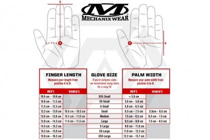 Mechanix M-Pact Fingerless Gloves (Black) - Size Large