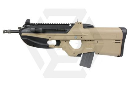 G&G/Cybergun AEG FN F2000 Tactical with ETU DST (Tan) © Copyright Zero One Airsoft