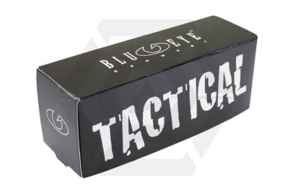 Blueye Tactical Goggles High Altitude with Black Frame & Smoke/Clear Lenses