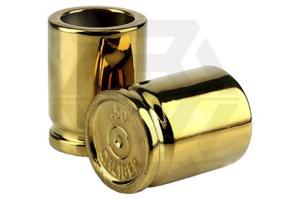 Caliber Gourmet .50 Cal Shot Glasses (Set of 2)