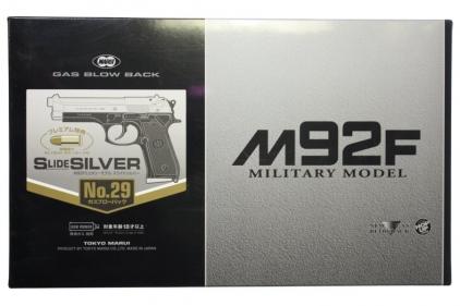 Tokyo Marui GBB M92F Variation (Silver Slide with Black Frame)