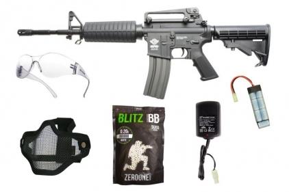 Zero One AEG CM16 Carbine Starter Pack Tier 1 (Bundle) © Copyright Zero One Airsoft