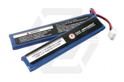 G&G 3.7v 2200mAh LiPo Battery for G&G Tracer Unit © Copyright Zero One Airsoft