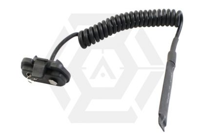 King Arms Remote Coiled Pressure Switch for M3 Illuminator (Black) © Copyright Zero One Airsoft