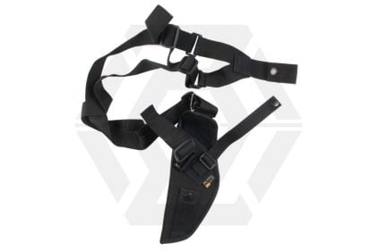 Mil-Force Large Pistol Shoulder Holster (Black)