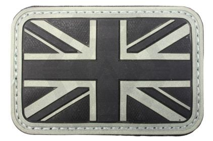 EB Velcro PVC Union Flag Patch (Glow in the Dark)