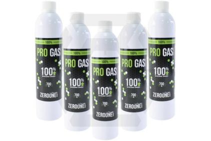Zero One Pro Gas Pack of 5 (Bundle)