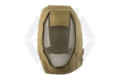Invader Gear Striker Mesh Full Face Mask (Coyote Tan) © Copyright Zero One Airsoft