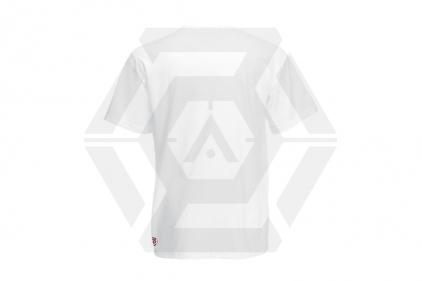 Daft Donkey Christmas T-Shirt 'Santa I NEED It Pistol' (White) - Size Extra Extra Large