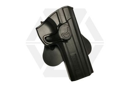 Amomax Rigid Polymer Holster for CZ P-01 (Black) © Copyright Zero One Airsoft