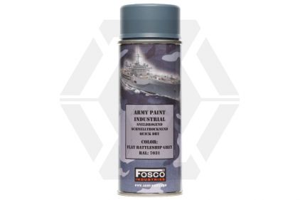 Fosco Army Spray Paint 400ml (Battleship Grey) © Copyright Zero One Airsoft
