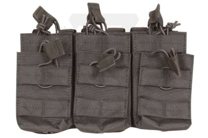 Viper MOLLE Quick Release Stacked Triple Mag Pouch (Black)
