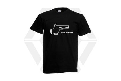 Daft Donkey T-Shirt 'Like Airsoft' (Black) - Size Small - £9.95