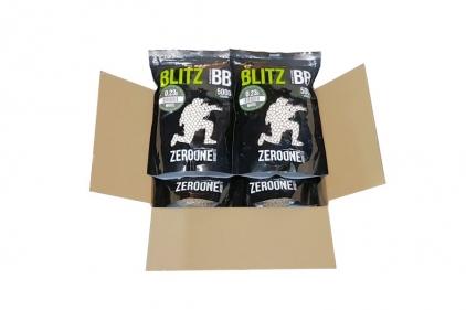 Zero One Blitz BB 0.23g 5000rds (White) Box of 10 (Bundle) © Copyright Zero One Airsoft