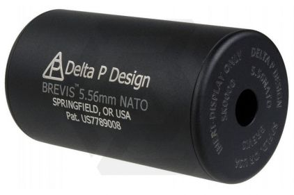 Mad Bull Delta P Design Brevis Mock Suppressor 14mm CCW
