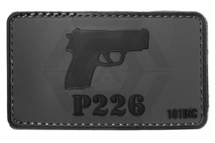"101 Inc PVC Velcro Patch ""P226"" © Copyright Zero One Airsoft"