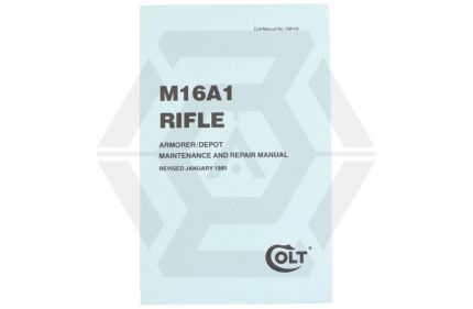 Colt Manual M16A1 Rifle © Copyright Zero One Airsoft
