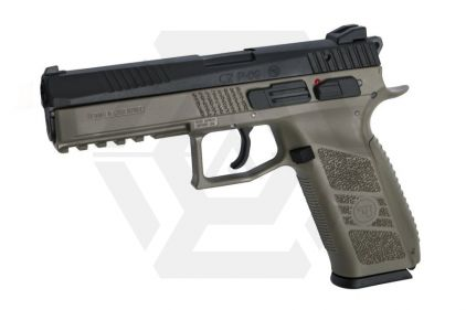 ASG GBB GAS/CO2 CZ P-09 with Carry Case (Black/Dark Earth)