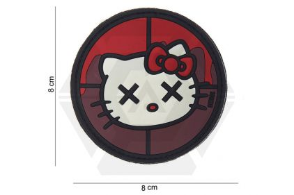 "101 Inc PVC Velcro Patch ""Hello Kitty"""