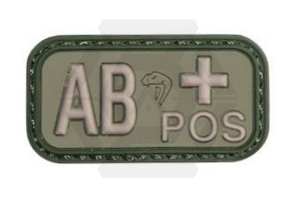 Viper Velcro PVC Blood Group Patch AB+ (Olive)